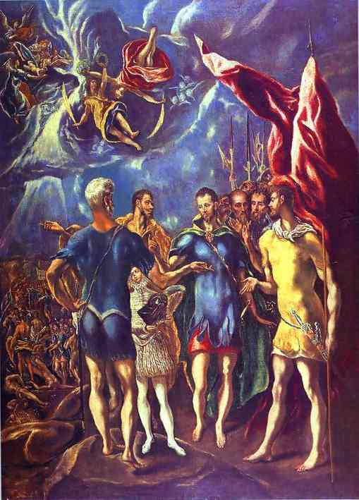 The Martyrdom Of St Maurice 1580s | El Greco | Oil Painting