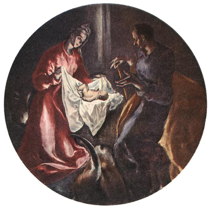 The Nativity 1603-05 | El Greco | Oil Painting