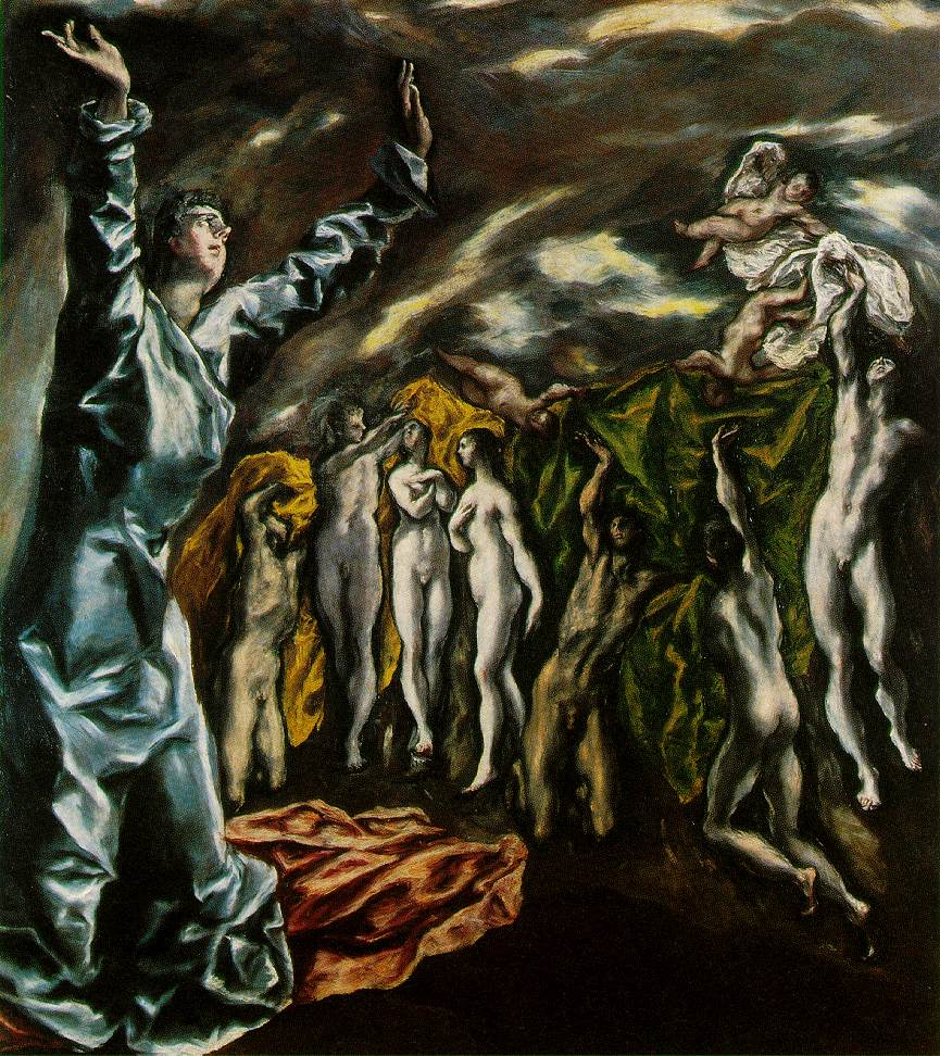 The Opening Of The Fifth Seal Of The Apocalypse 1610-14 | El Greco | Oil Painting