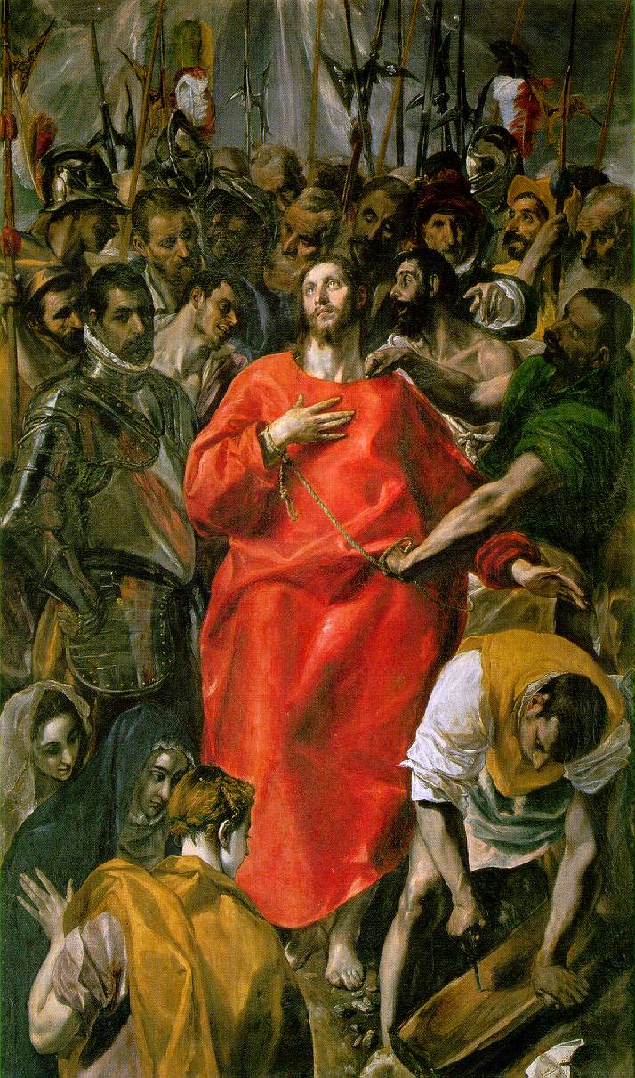 The Spoliation 1577-79 | El Greco | Oil Painting