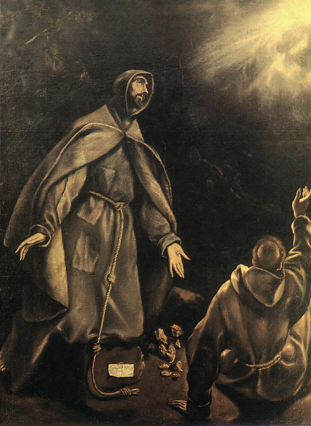 The Stigmatizat On Of St Francis 1600-05 | El Greco | Oil Painting
