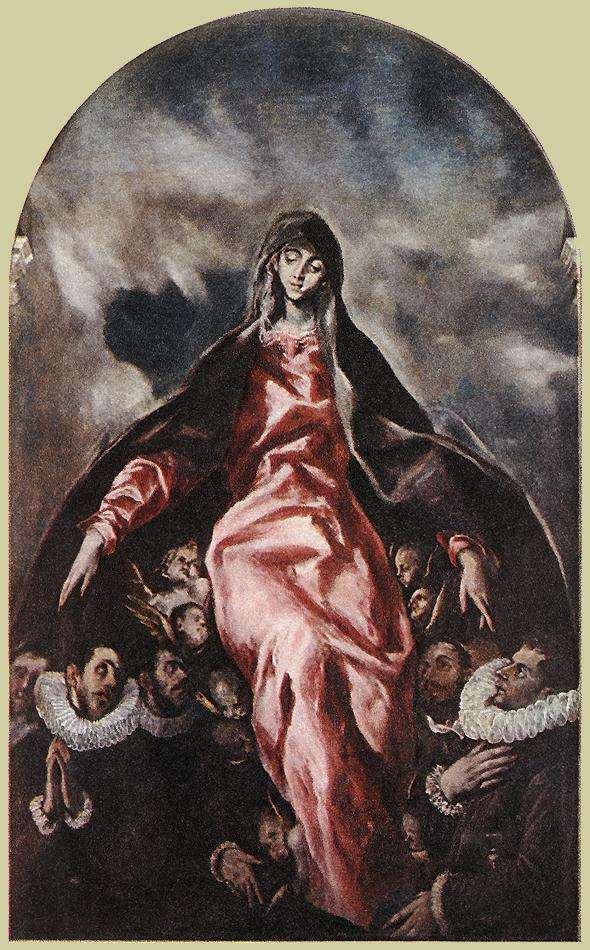 Virgin Of Charity 1603-05 | El Greco | Oil Painting