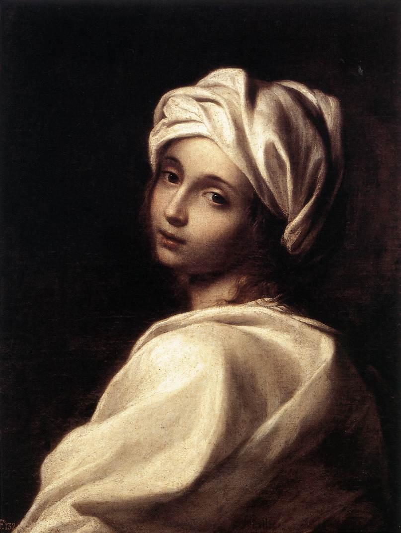 Portrait of Beatrice Cenci 1662 | Elisabetta Sirani | Oil Painting