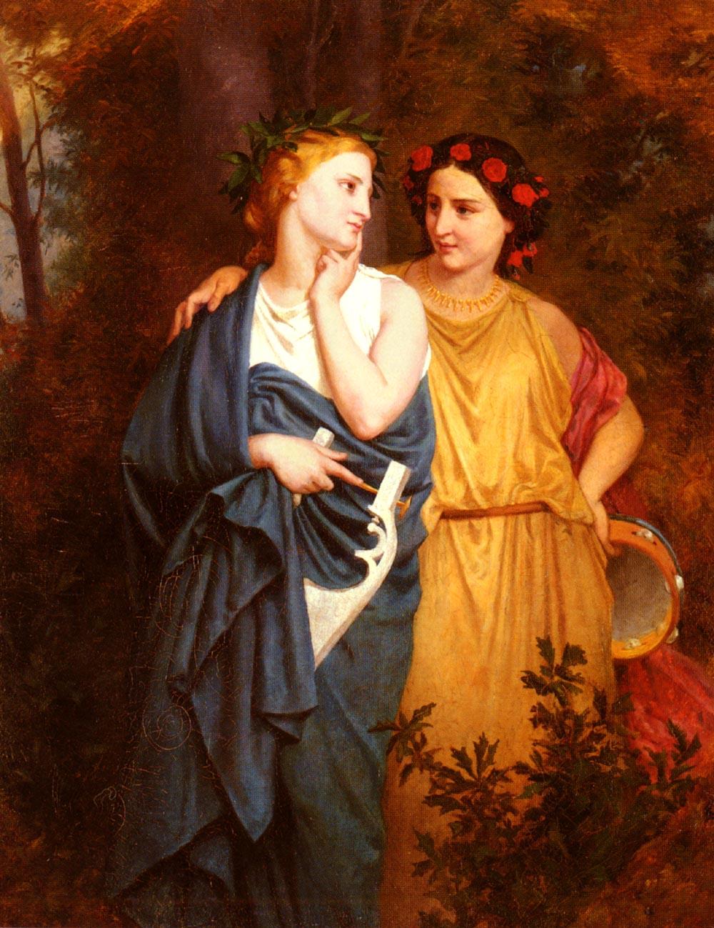 Philomela And Procne | Elizabeth Bouguereau | Oil Painting