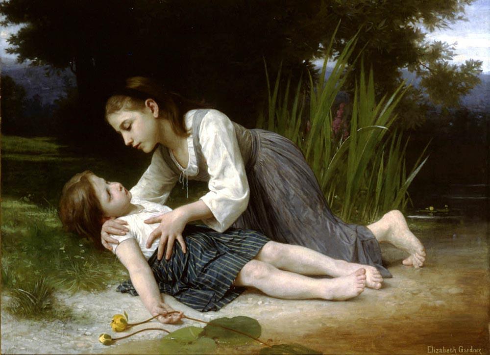 LImprudente | Elizabeth Bouguereau | Oil Painting
