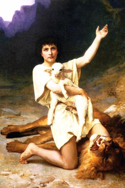 The Shepard David | Elizabeth Bouguereau | Oil Painting