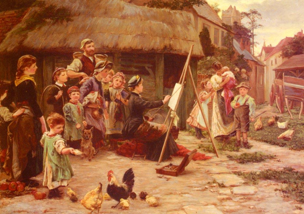 An Art Students Holiday | Ellen Grace Parker | Oil Painting