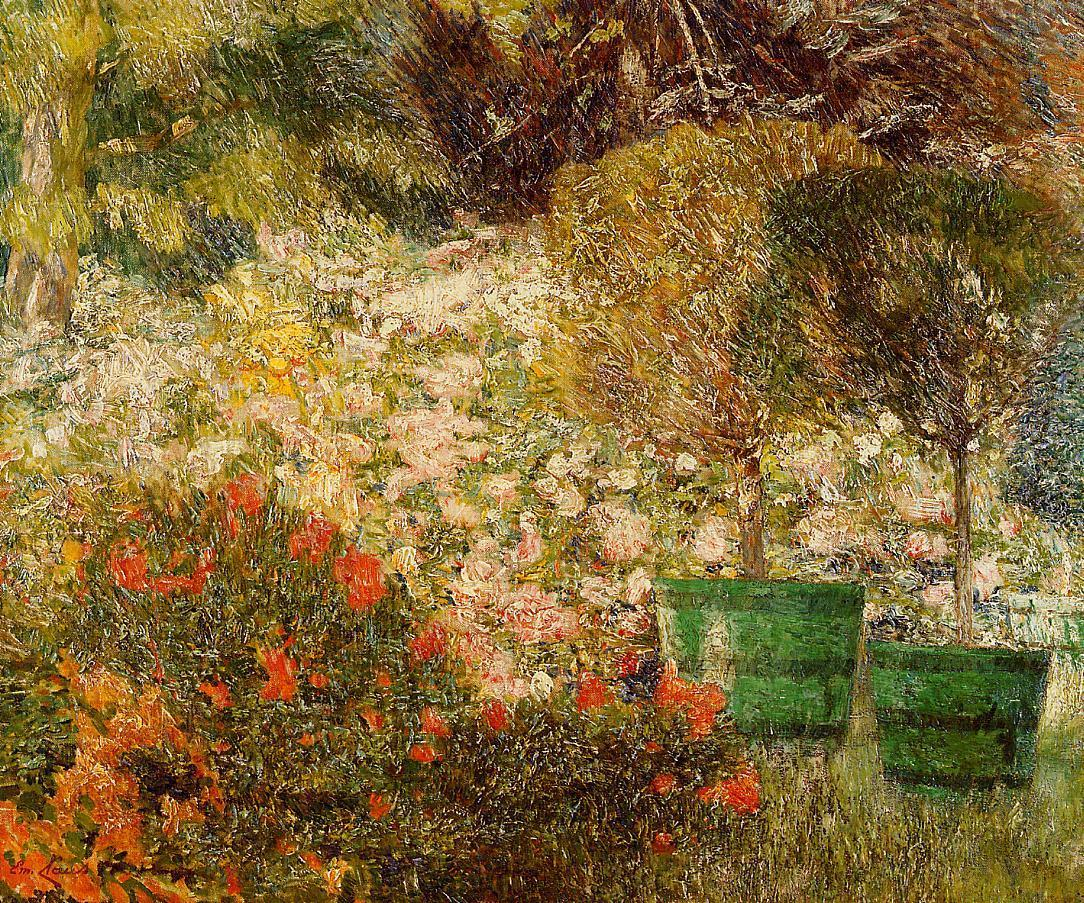 A Corner of My Garden  1901 | Emil Claus | Oil Painting
