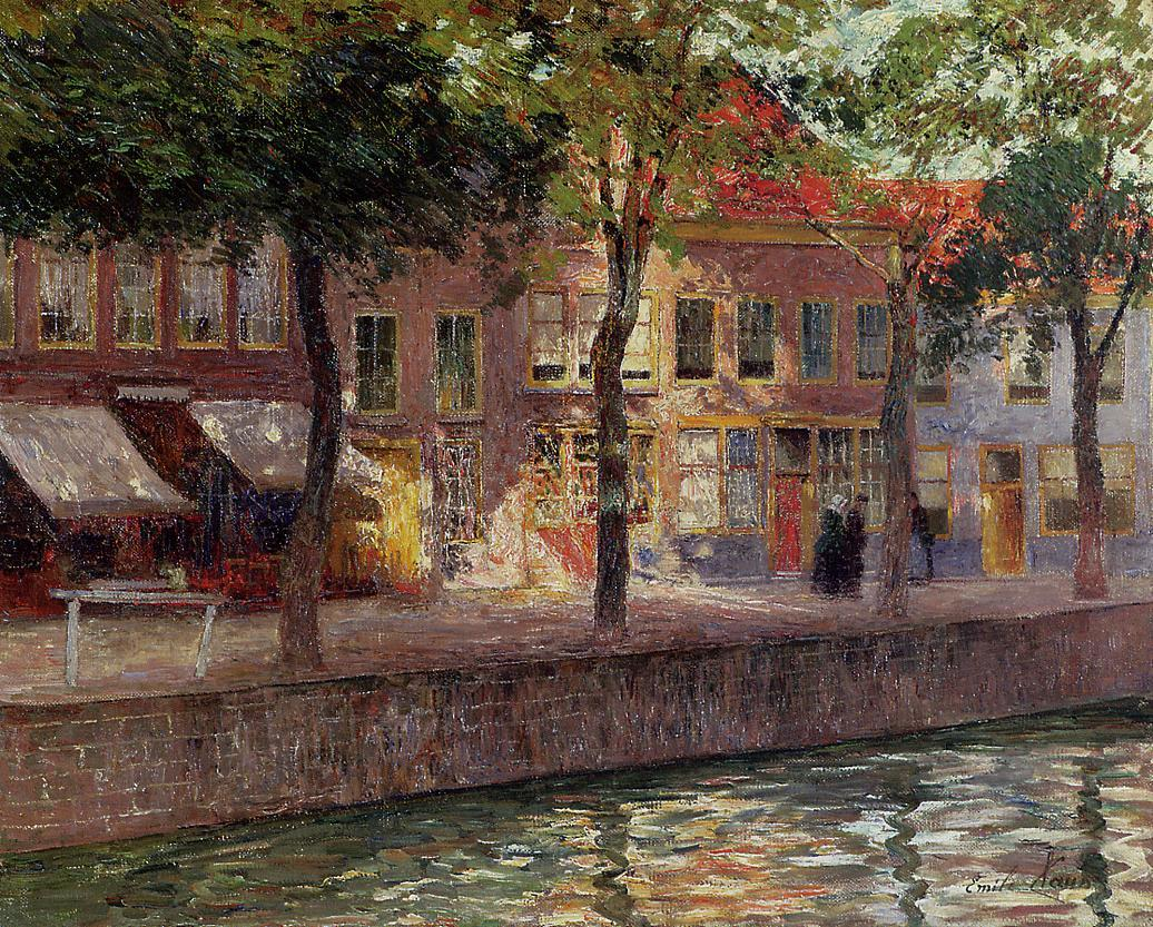 Canal in Zeeland  1896-1899 | Emil Claus | Oil Painting