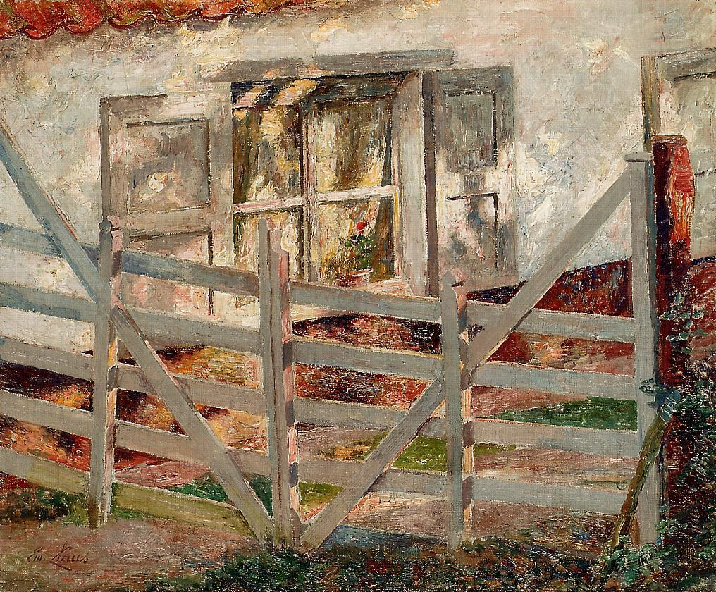 The Gate  1899 | Emil Claus | Oil Painting