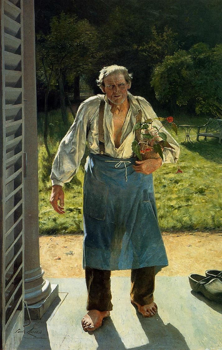 The Old Gardener | Emil Claus | Oil Painting
