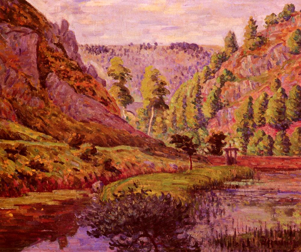 La Vallee De Daoulas | Emile Dezaunay | Oil Painting