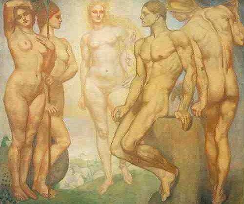 The Judgement Of Paris | Emile Fabry | Oil Painting