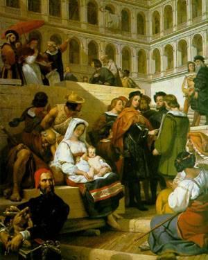 Raphael | Emile-Jean-Horace Vernet | Oil Painting