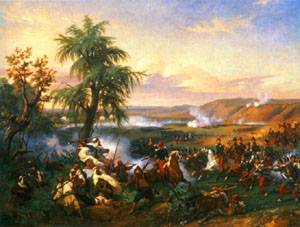 The Battle of Harba | Emile-Jean-Horace Vernet | Oil Painting