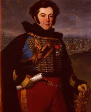 Portrait Of Lieutenant Colonel | Emile-Jean-Horace Vernet | Oil Painting