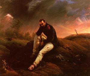 Le Dernier Grenadier De Waterloo | Emile-Jean-Horace Vernet | Oil Painting