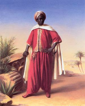 Portrait of an Arab | Emile-Jean-Horace Vernet | Oil Painting