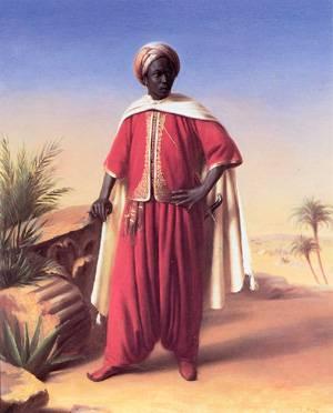 Portrait of an Arab | Emile-Jean-Horace Vernet | Oil Painting