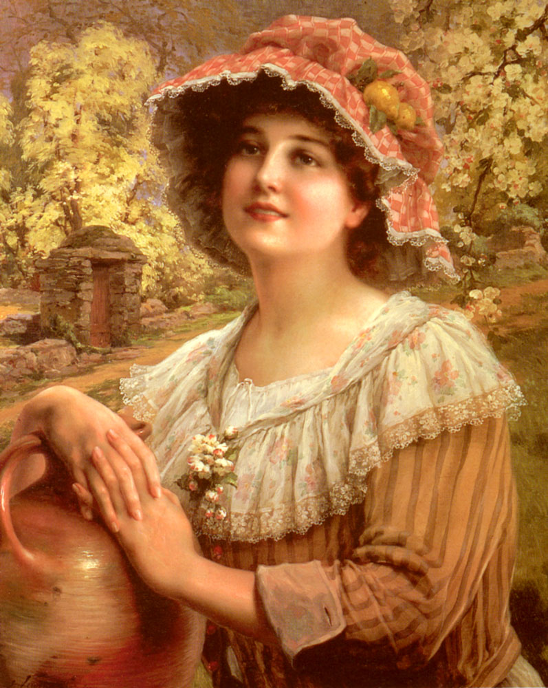 Country Spring | Emile Vernon | Oil Painting