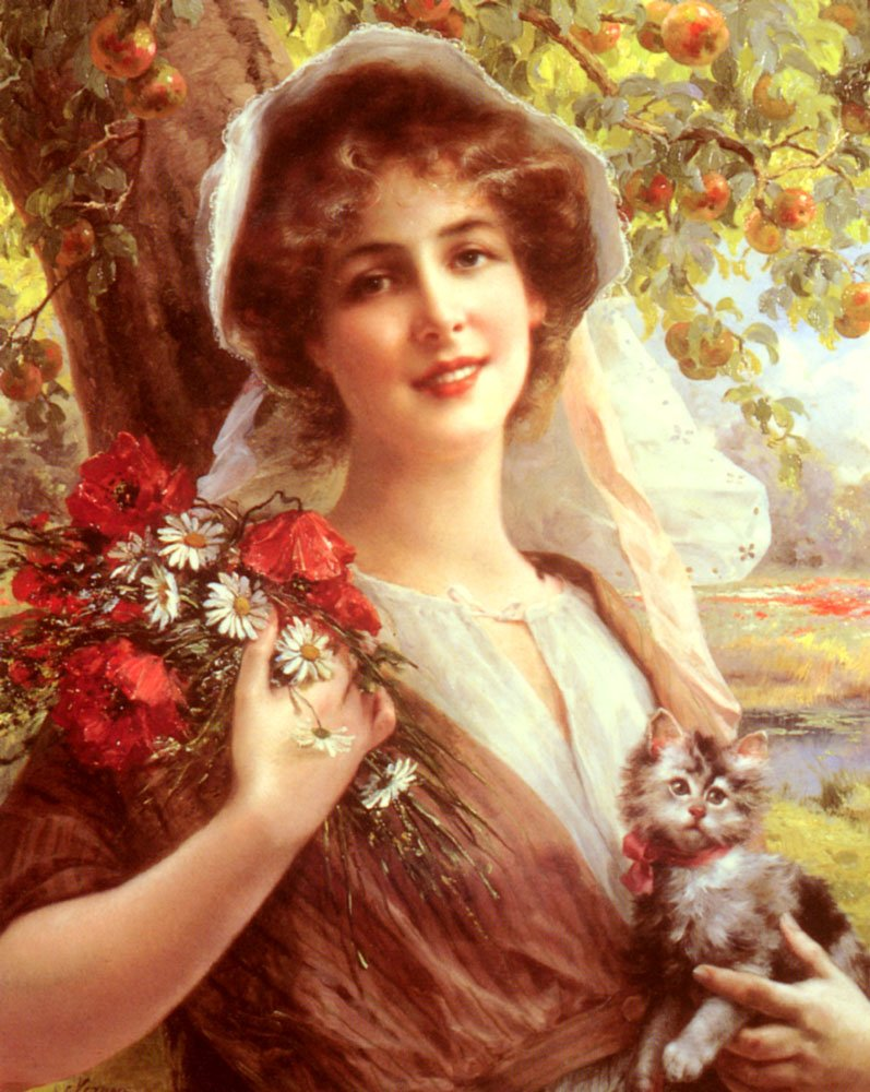 Country Summer | Emile Vernon | Oil Painting