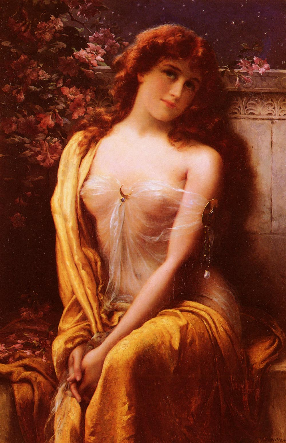 Starlight | Emile Vernon | Oil Painting