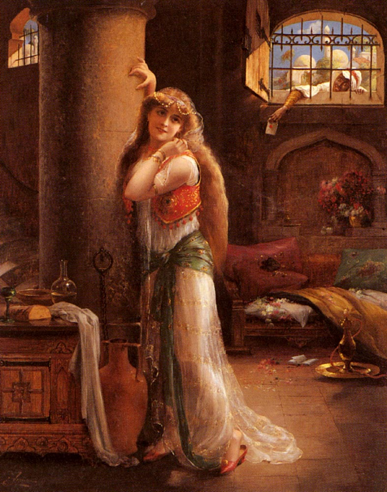 The Secret Message | Emile Vernon | Oil Painting
