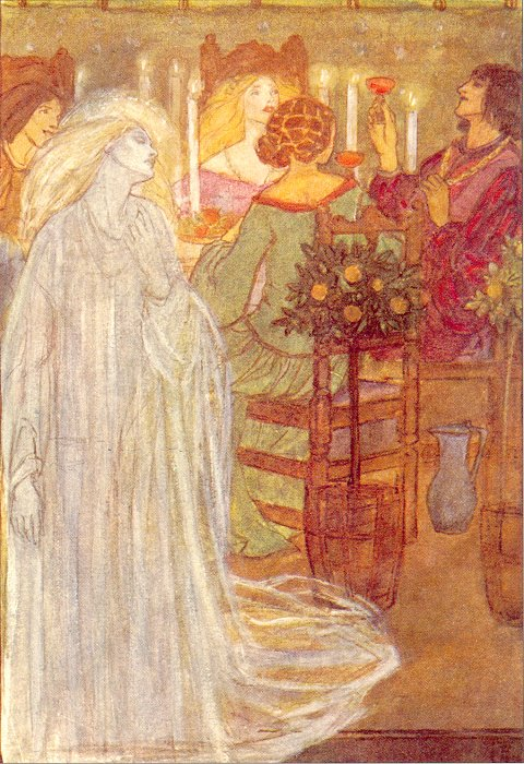 At Home Circa 1910 | Emma Florence Harrison | Oil Painting