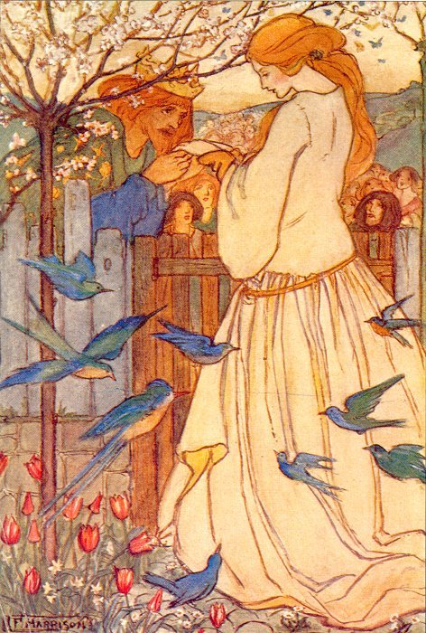 Maiden Song | Emma Florence Harrison | Oil Painting