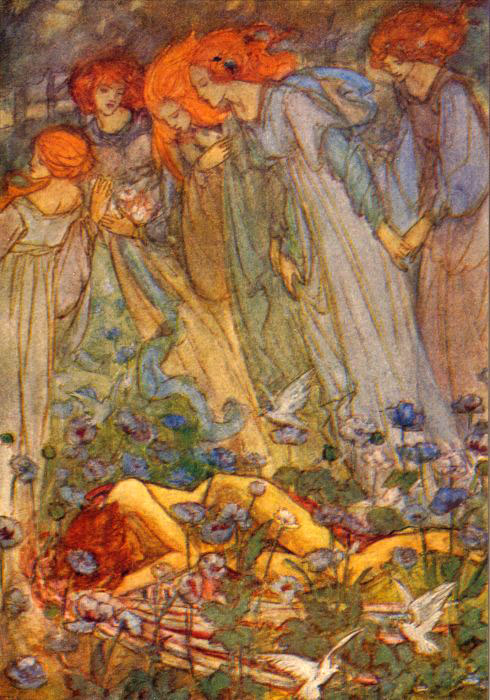 Ream Love Circa 1910 | Emma Florence Harrison | Oil Painting