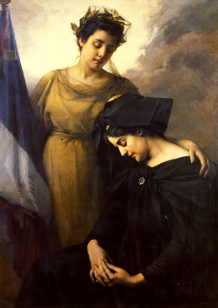 The Loss of Alsace Lorraine | Emmanuel Benner | Oil Painting