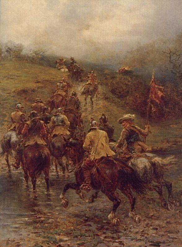 Crofts Ernest   Ernest Crofts   Oil Painting
