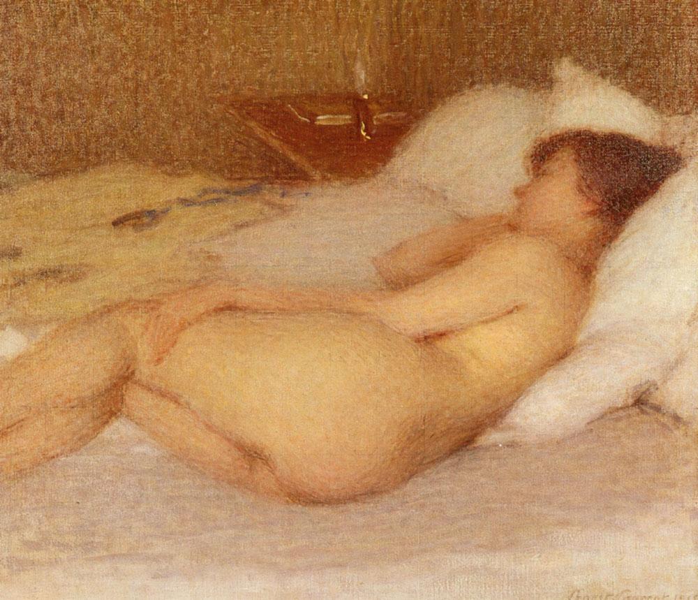 Femme Nue | Ernest Joseph Laurent | Oil Painting