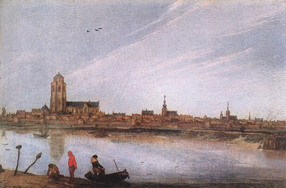 View Of Zierikzee 1618 | Esaias Van De Velde | Oil Painting