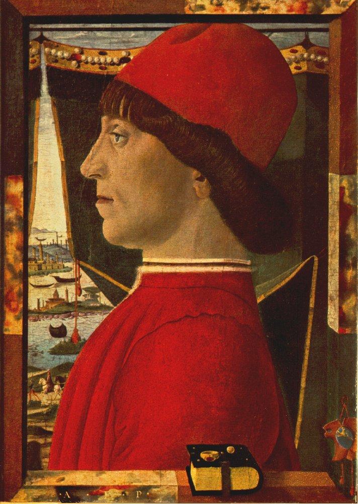 Portrait Of A Young Man | Estense Baldassare | Oil Painting