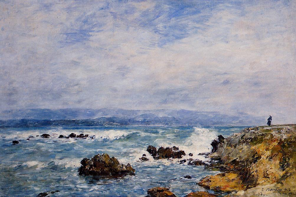 Antibes the Point of the Islet 1893 | Eugene Louis Boudin | Oil Painting