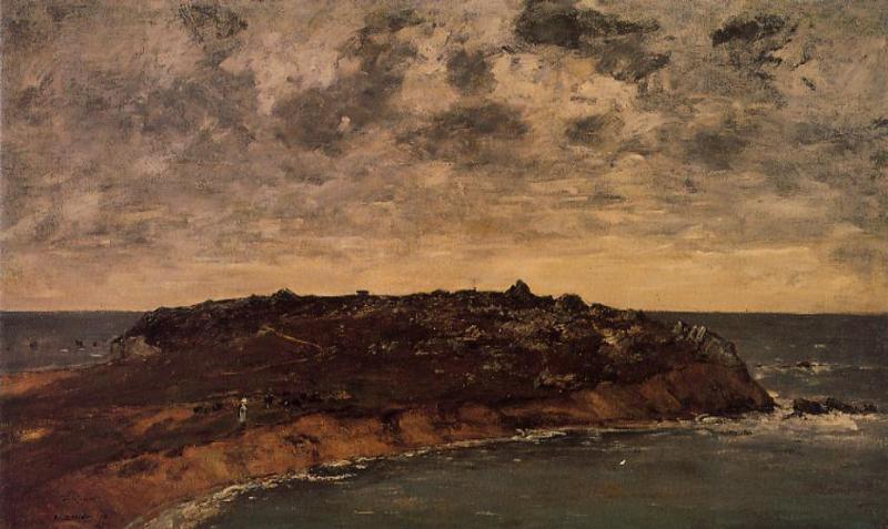 Camaret le Toulinguet1 1872 | Eugene Louis Boudin | Oil Painting