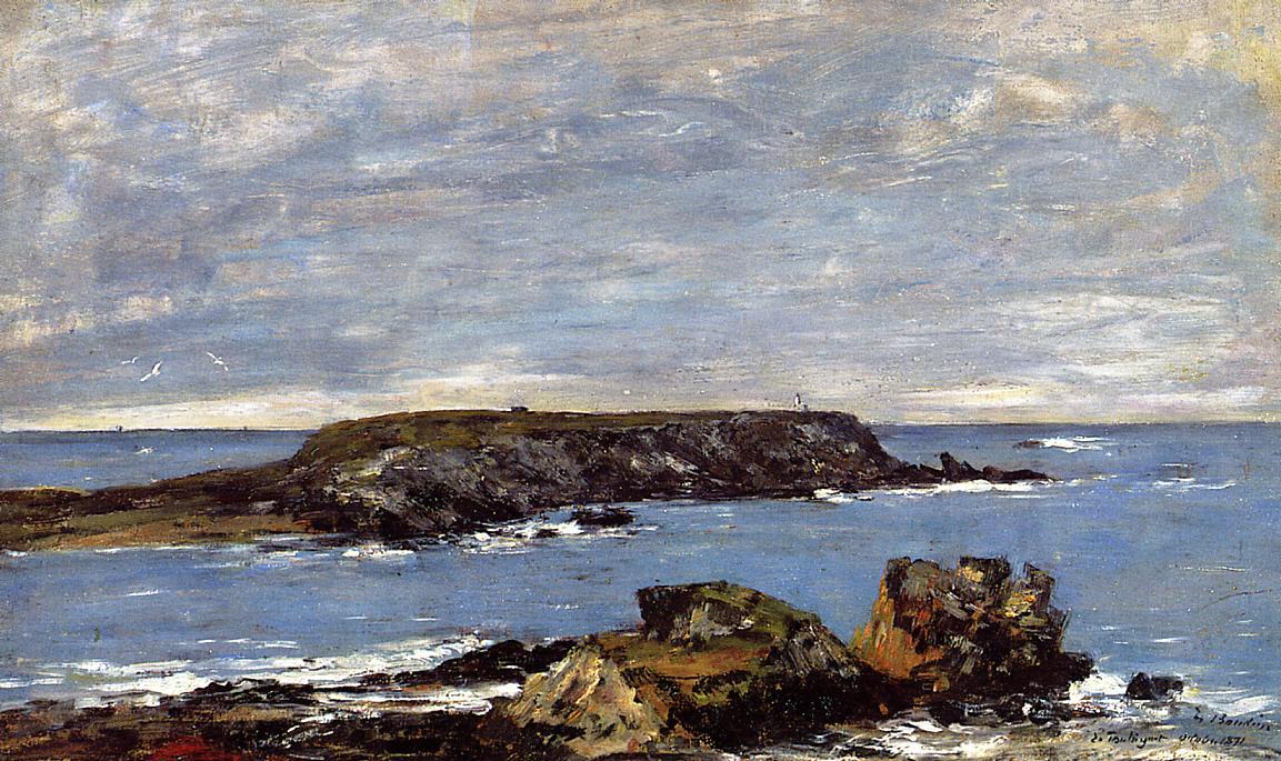 Camaret Le Toulinguet 1871 | Eugene Louis Boudin | Oil Painting