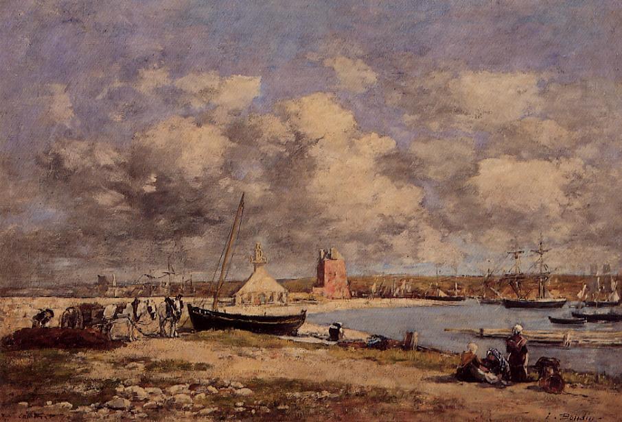 Camaret 1870 | Eugene Louis Boudin | Oil Painting