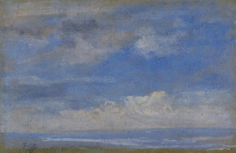 Clouds | Eugene Louis Boudin | Oil Painting