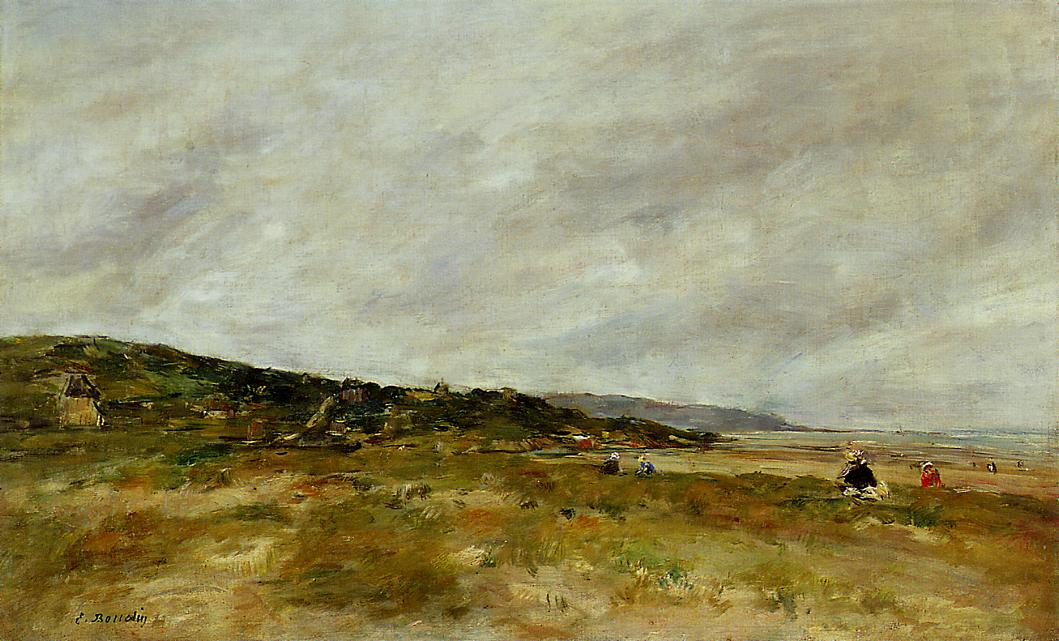 Deauville the Dunes1 1888-1895 | Eugene Louis Boudin | Oil Painting
