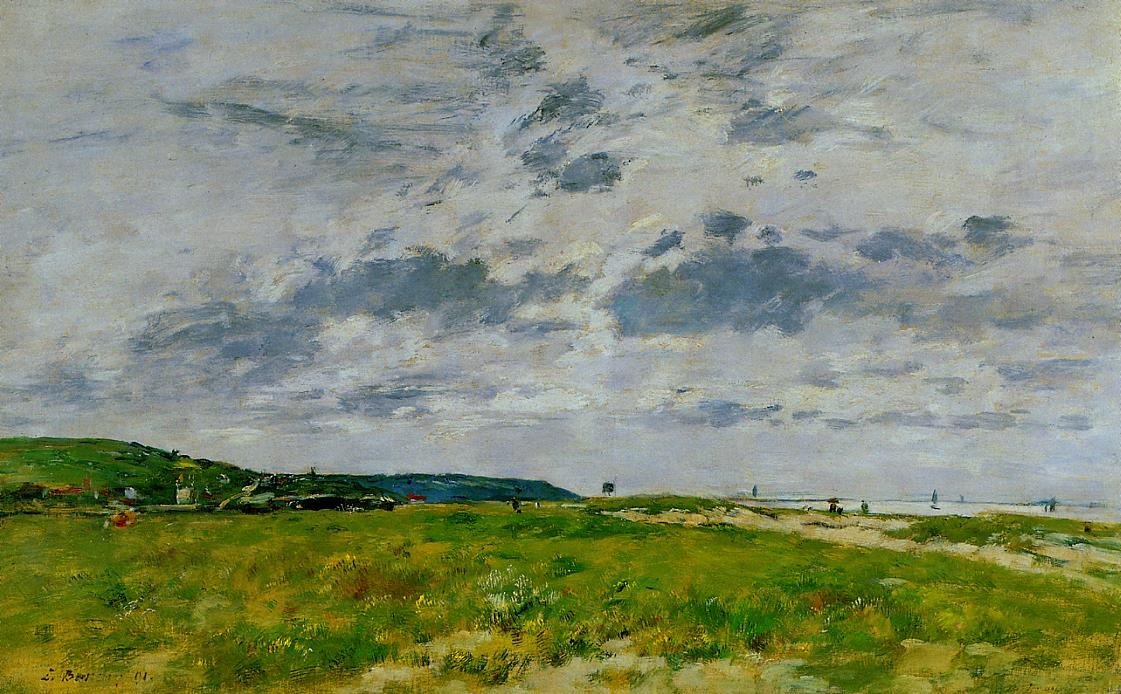 Deauville the Dunes 1891 | Eugene Louis Boudin | Oil Painting