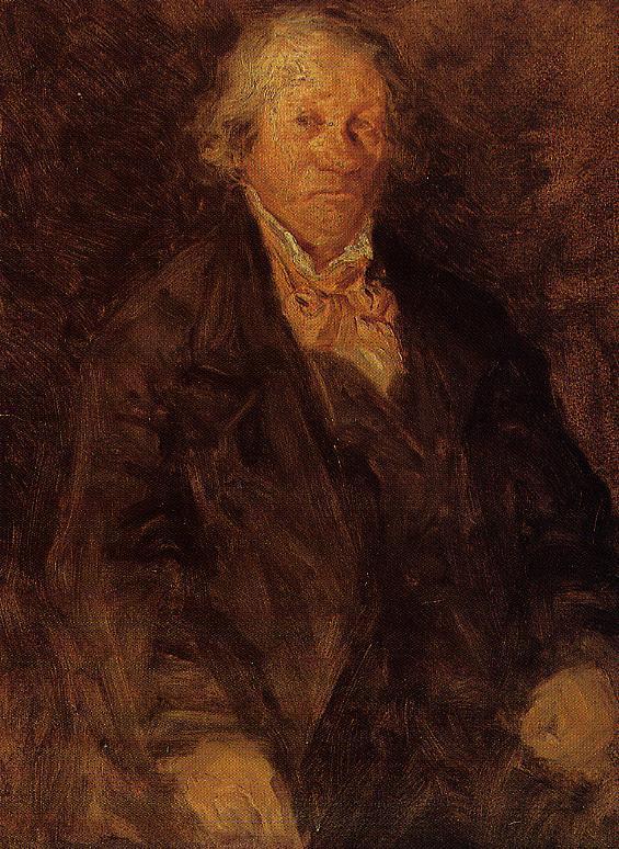Portrait of the Artist's Father (Leonard-Sebastien Boudin) 1850 | Eugene Louis Boudin | Oil Painting