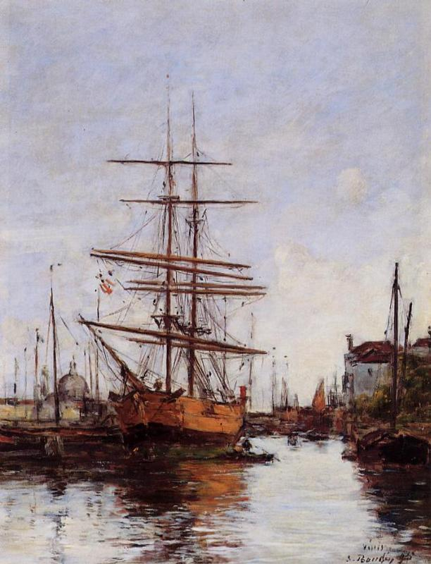 Venice Quai de la Guidecca 1895 | Eugene Louis Boudin | Oil Painting