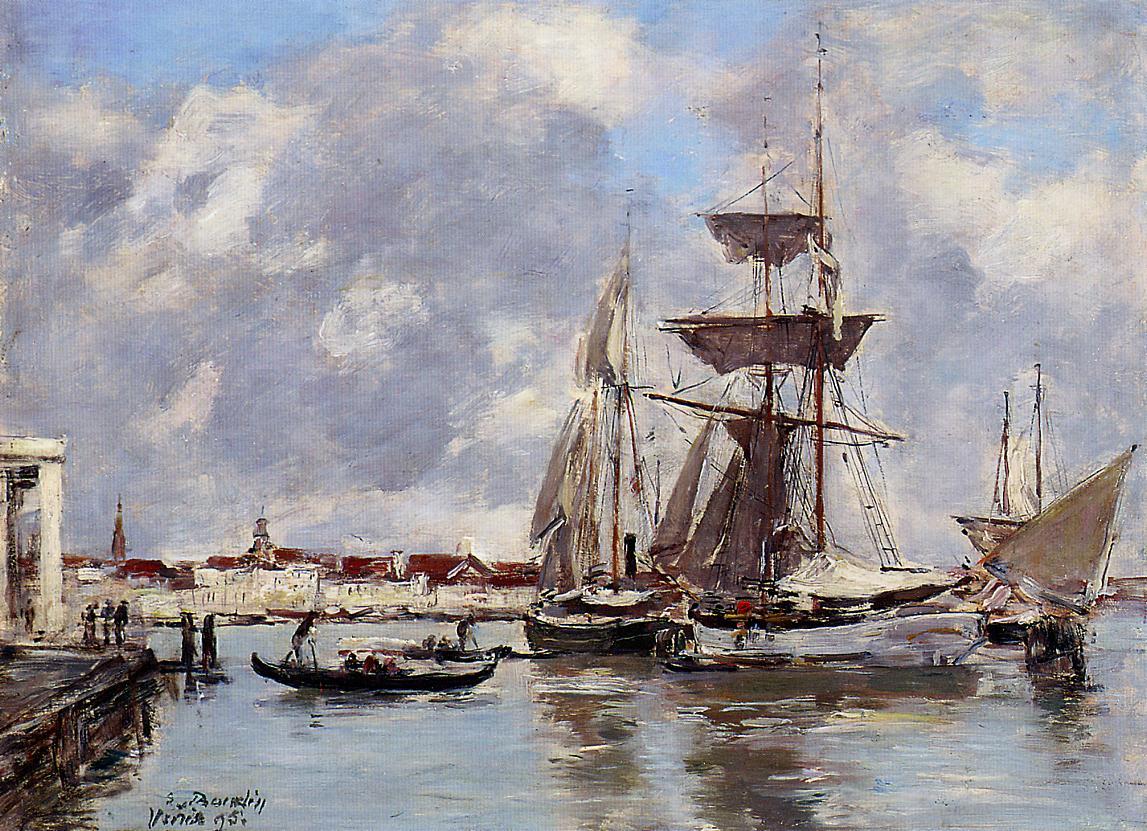 Venice 1895 | Eugene Louis Boudin | Oil Painting