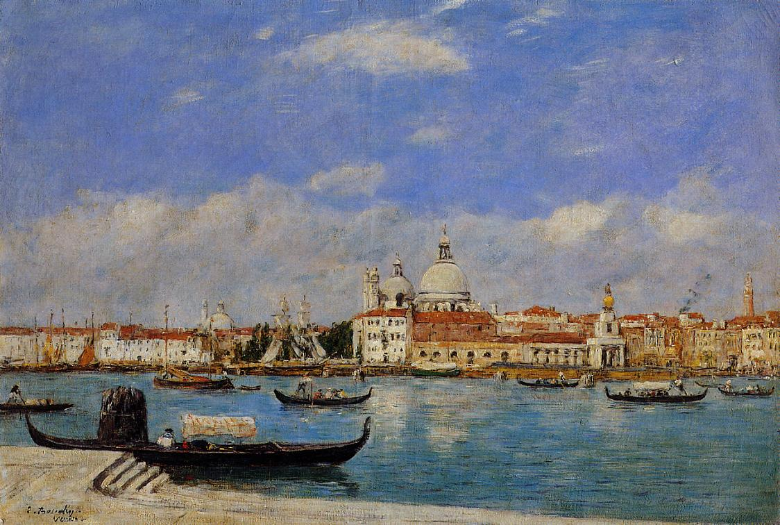 View of Venice1 1895 | Eugene Louis Boudin | Oil Painting
