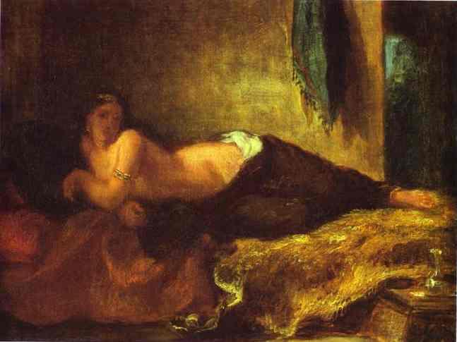 Odalisque | Eugene Delacroix | Oil Painting