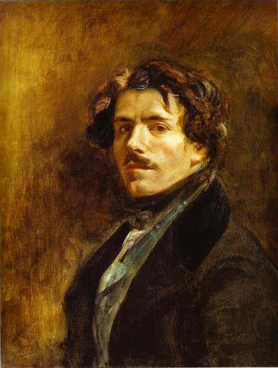 Self Portrait 1837 | Eugene Delacroix | Oil Painting