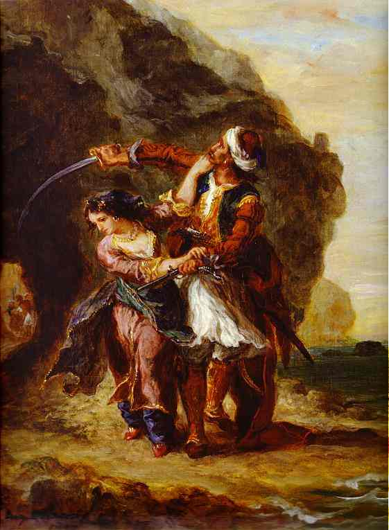 The Bride Of Abydos 1857 | Eugene Delacroix | Oil Painting