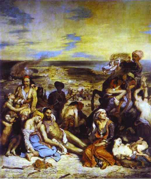 The Massacre Of Chios 1824 | Eugene Delacroix | Oil Painting
